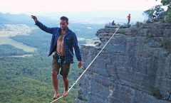 Financial wisdom may appear like walking a tightrope