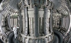 The energy future? The British nuclear fusion reactor JET.